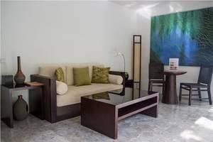 Villa Air Bali Seminyak - Bamboo Living Room