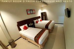 DFresh Guest House Malang - Family Room
