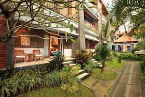 Bali Tropic Resort and Spa Bali - Balkon kamar Deluxe