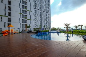 Clean and Cozy Studio Akasa BSD Apartment By Travelio