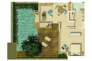 The Elysian Seminyak - Villa Layout