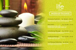 The Life Hotels Surabaya - In Room Spa Package