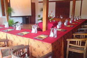 Sapu lidi Resort Hotel Bandung - Ruang pertemuan di Sapulidi
