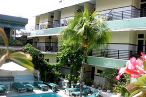 Sayang Maha Mertha Hotel Bali - Pemandangan kolam