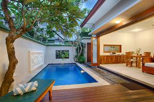Villa Tukad Alit Bali - One Bedroom Villa pool