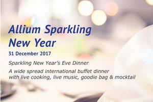 Allium Batam Hotel Batam - Allium Sparkling New Year - 31 December 2017