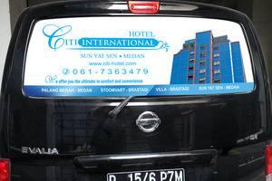 Hotel Citi International SunYatSen Medan - Nissan Evalia untuk antar-jemput dari - ke Kuala Namu Airport