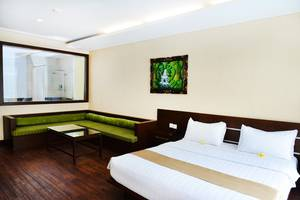 Devata Suites and Residence Bali - Superior Suite Pool Acess-Living