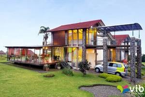 Villa Alium Bandung - Eksterior