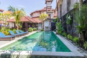 RedDoorz Near Beachwalk Kuta Bali - Kolam Renang