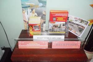 Simply Homy Guest House Sawit Sari 2 Yogyakarta - Resepsionis