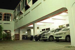 Hotel Perdana Yogyakarta - Area parkir