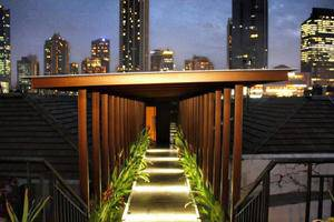 Green Bamboo Residence Jakarta - Roof top