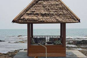 Double G Resort Anyer - Relaxing Gazebo