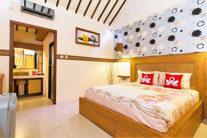 ZenRooms Lombok Raya Senggigi - Tempat Tidur Double