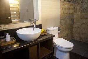 Villa Sawah Resort Managed by Salak Hospitality Bogor - Bathroom