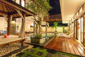 Club Corner Residence by Nagisa Bali Bali - gazebo dan kolam renang