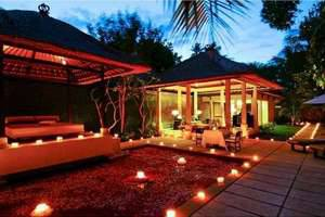 The Gangsa Villa Bali - Romantic Candle Light Dinner