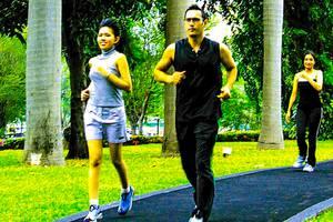 Hotel Borobudur Jakarta - Jogging