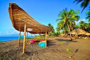 Coconut Garden Beach Resort Maumere - Santai di pantai