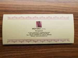 Novena Hotel Bandung Bandung - Greetings