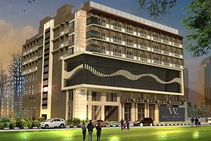 West Point Hotel Bandung - Facade