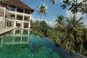Sunset Hill Ubud Bali - Pool