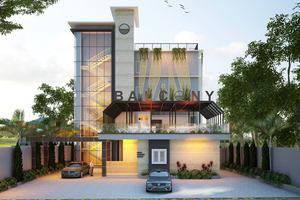 Balcony Hotel Sukabumi - Tampilan Luar Hotel