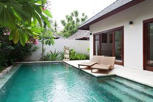 Kebun Villas & Resort Lombok - swiming pool