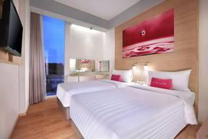 fave hotel Palembang - Standart Twin Bed