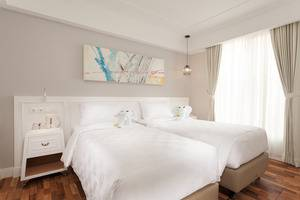Cordela Norwood Hotel Jakarta - Kamar Deluxe ( dua tempat tidur terpisah )