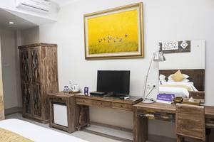 Tinggal Premium Cottage Ubud Raya Pengosekan Bali - Kamar tamu