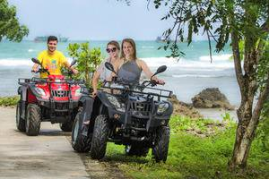 Green Coral Beach Camping Ground Tanjung Lesung Pandeglang - ATV
