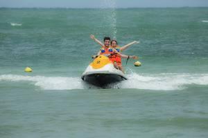 Green Coral Beach Camping Ground Tanjung Lesung Pandeglang - Jetski