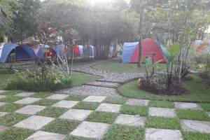 Green Coral Beach Camping Ground Tanjung Lesung