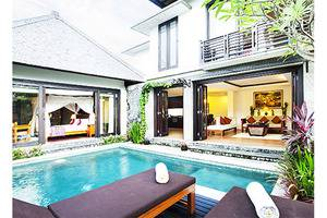 The Sanyas Suite Bali - Pemandangan Kolam Renang Villa Suite Eksekutif