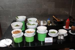 Hotel Candi Indah Semarang - Buffet Mie Sarapan