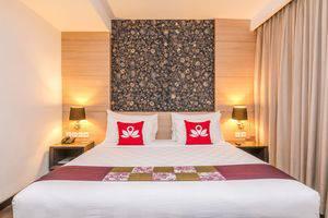 ZenRooms Imam Bonjol Denpasar - Tampak tempat tidur double