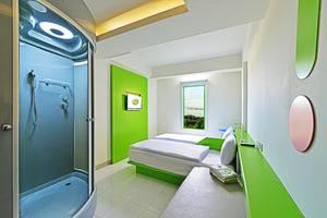 POP! Hotel Nusa Dua - Kamar tidur