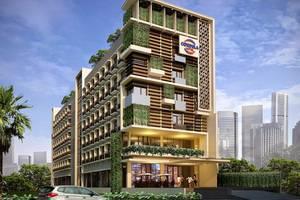 Cordela Hotel Cirebon - Tampilan Luar Hotel
