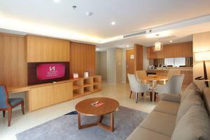 Swiss-Belhotel Pondok Indah - Living Room One Bed Room Suite