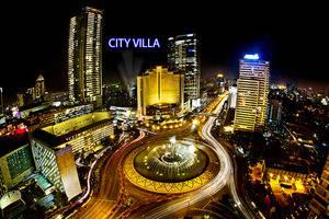 City Villa Jakarta - peta
