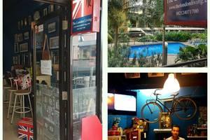 The London Living Kebagusan City Jakarta - Tempat untk check in dan check out di depan kolam renang