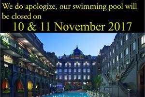 GH Universal Hotel Bandung - Kolam ditutup