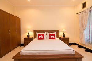 ZenRooms Ubud Jatayu Bali - Tampak tempat tidur double