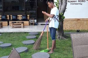 Rumah Roso Homestay Yogyakarta - Taman