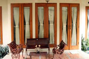 Mulyasari Guest House Syariah Bandung - Teras
