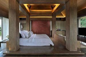 Djoglo Luxury Bungalow Malang - Kamar - Pemandangan Taman