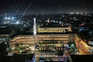 Hotel Savoy Homann Bandung - terlihat pada malam hari
