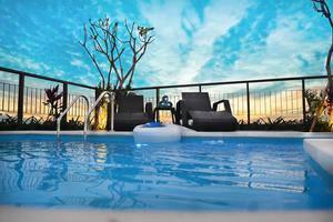 Amalfi Hotel Seminyak - Kolam Renang
